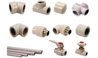 Соединительные детали для систем горячего и холодного водоснабжения из полипропилена